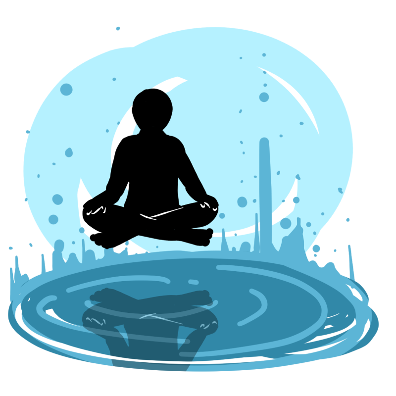 Sensory deprivation tanks are great for meditation